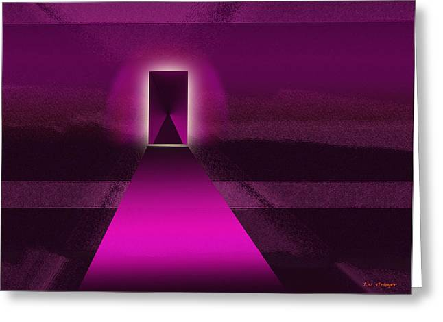 Doorway Greeting Card by Tim Stringer
