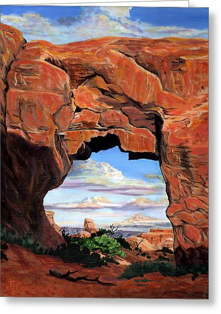 Doorway To Enchantment Greeting Card
