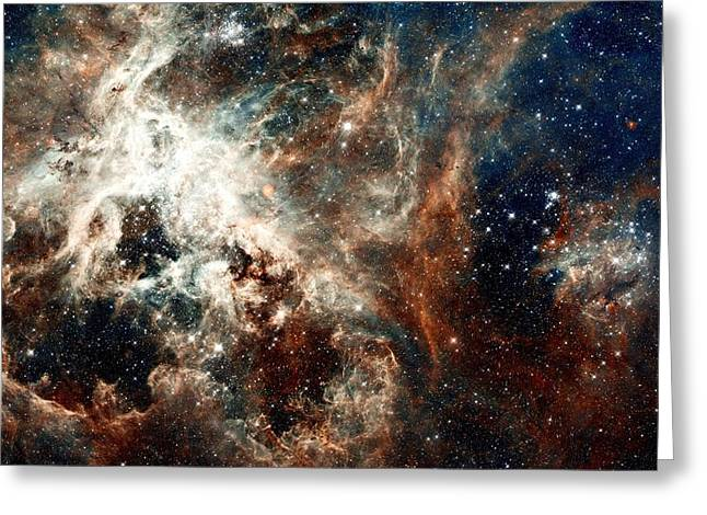 Doradus Nebula Greeting Card