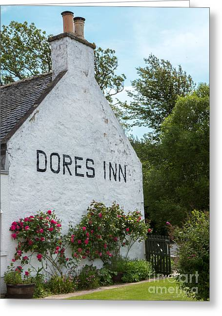 Dores Inn Inverness Scotland Greeting Card by Iris Richardson