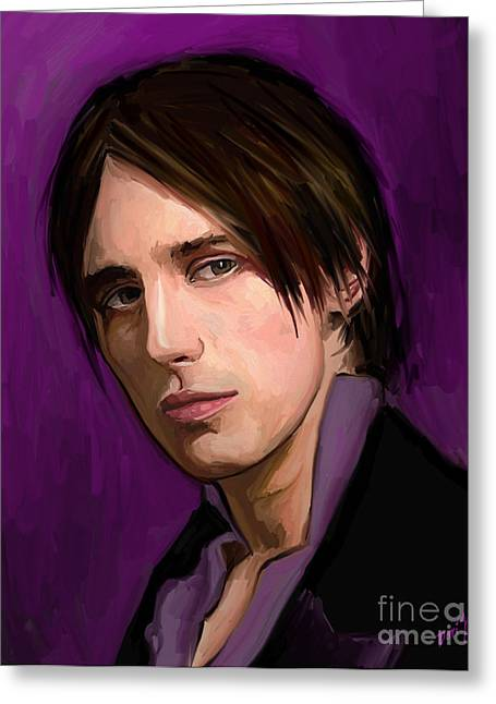 Dorian Gray Greeting Card by Dori Hartley