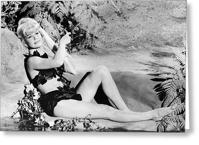 Doris Day In Move Over, Darling  Greeting Card by Silver Screen