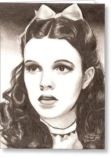 Dorothy Greeting Card by Michael Mestas