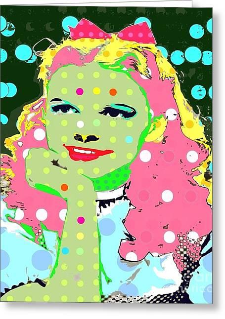 Dorothy Greeting Card by Ricky Sencion