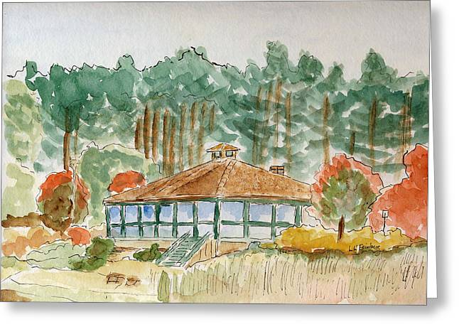 Dorrs Pondhouse Greeting Card