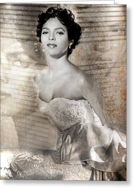 Dorthy Dandridge Greeting Card