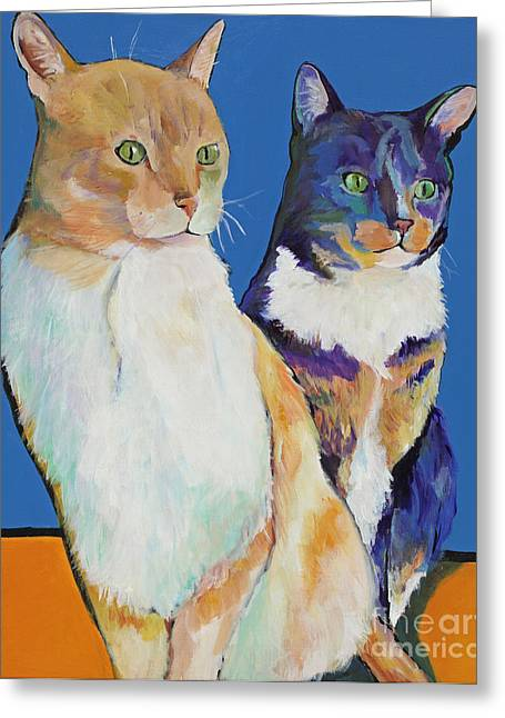Dos Amores Greeting Card