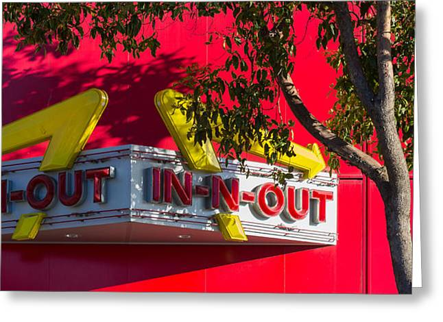 Double Double With Cheese Animal Style Yum Greeting Card by Scott Campbell
