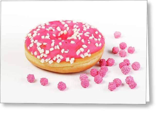Doughnut Greeting Card by Wladimir Bulgar