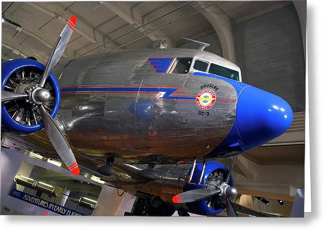 Douglas Dc-3 Aircraft Greeting Card