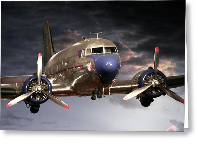 Douglas Dc 3 Greeting Card