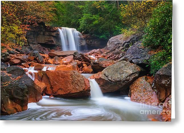 Douglas Falls D30012648 Greeting Card