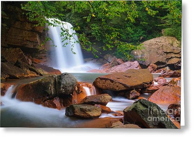 Douglas Falls D30015192 Greeting Card