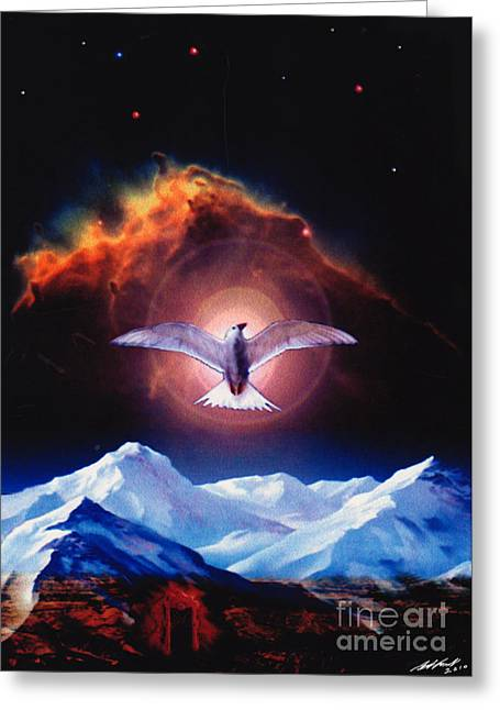 Dove Of Universal Peace Greeting Card