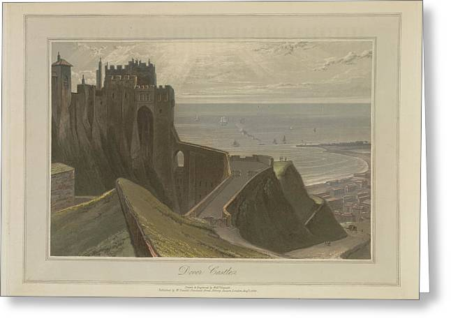Dover Castle Greeting Card by British Library