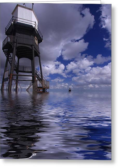 Dovercourt Essex Lighthouse  Greeting Card