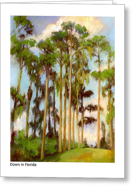 Down In Florida Greeting Card