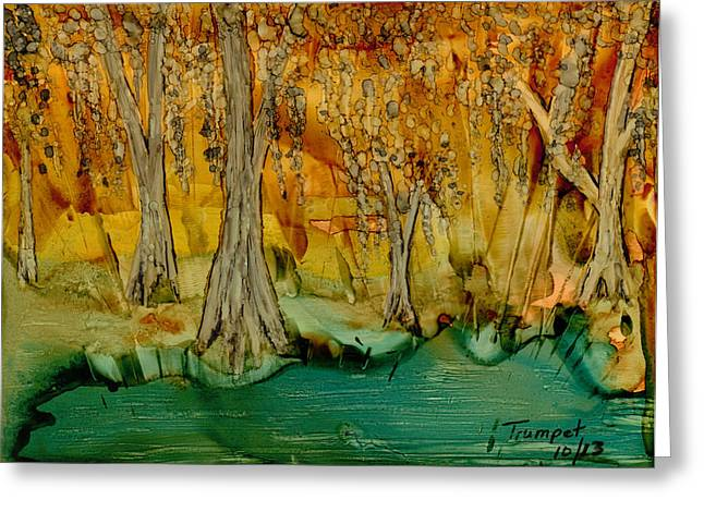 Down On The Bayou Greeting Card