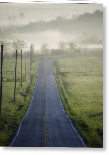 Down Roads Unknown Greeting Card by Bill Cannon
