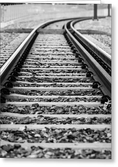 Down The Line Greeting Card by John McArthur