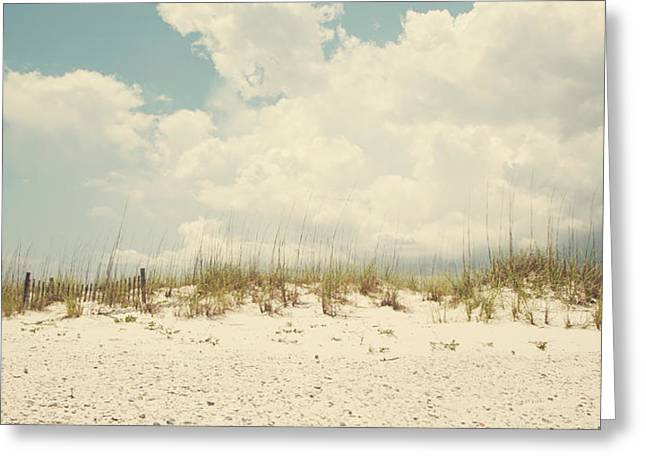Down The Shore Greeting Card by Kate Livingston
