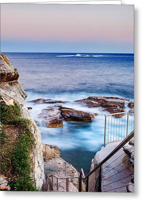 Down To The Water Greeting Card by Az Jackson