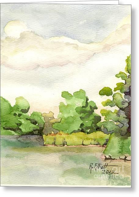 Downriver Napanee Greeting Card