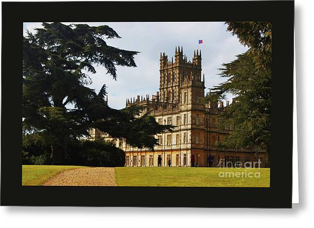 Downton Abbey 3 Greeting Card