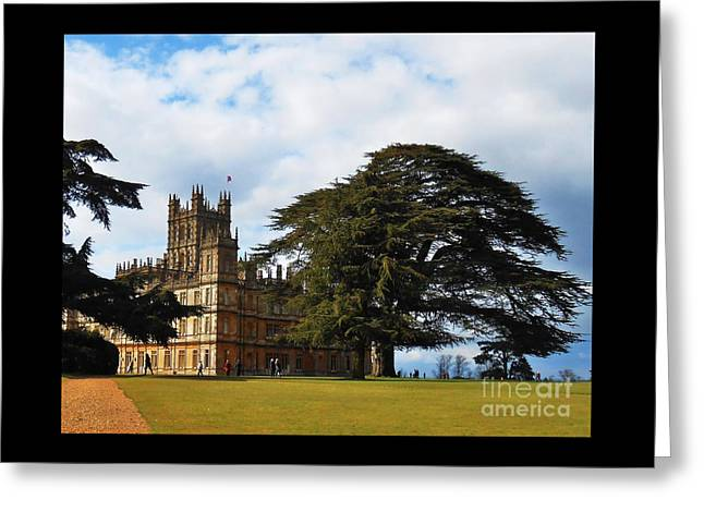 Downton Abbey Aka High Clere Castle 1 Greeting Card