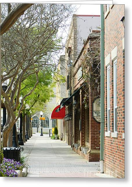 Downtown Aiken South Carolina Greeting Card