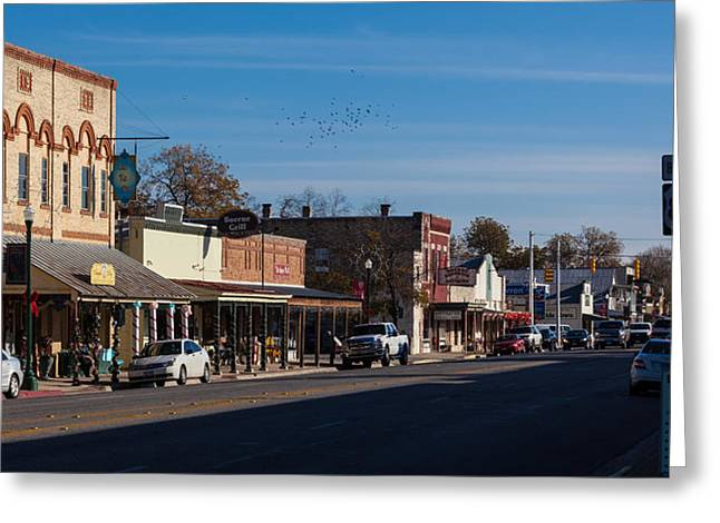 Downtown Boerne Greeting Card