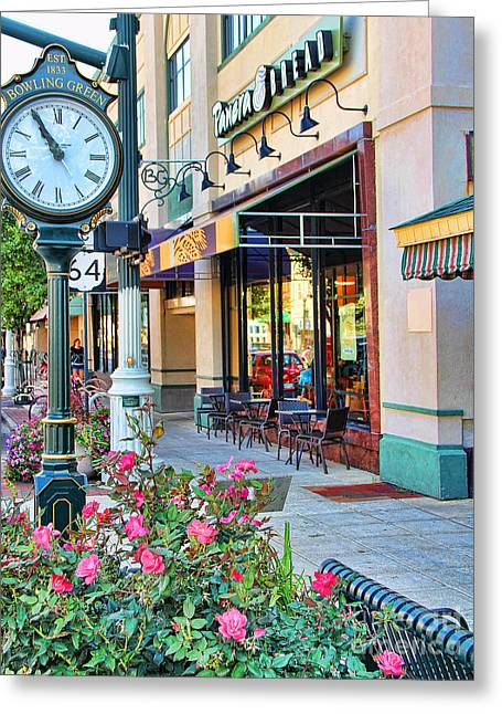Downtown Bowling Green Greeting Card