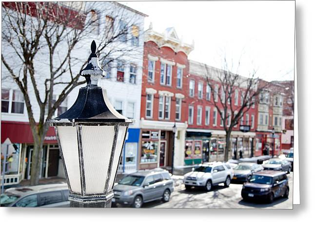 Downtown Brockport I Greeting Card