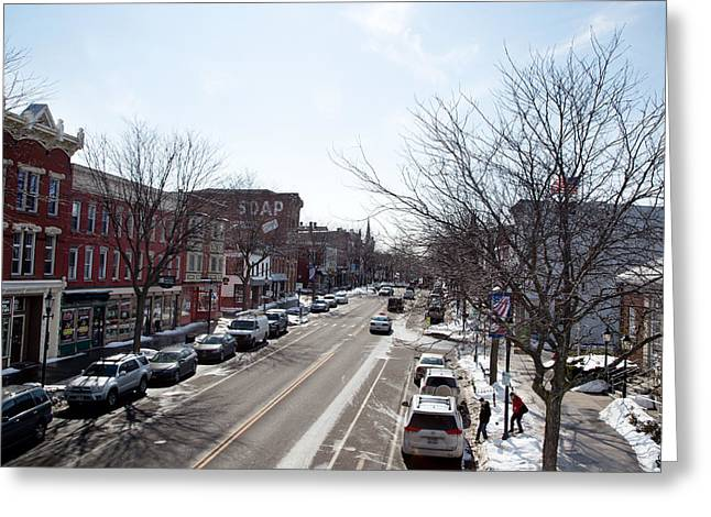 Downtown Brockport IIi Greeting Card