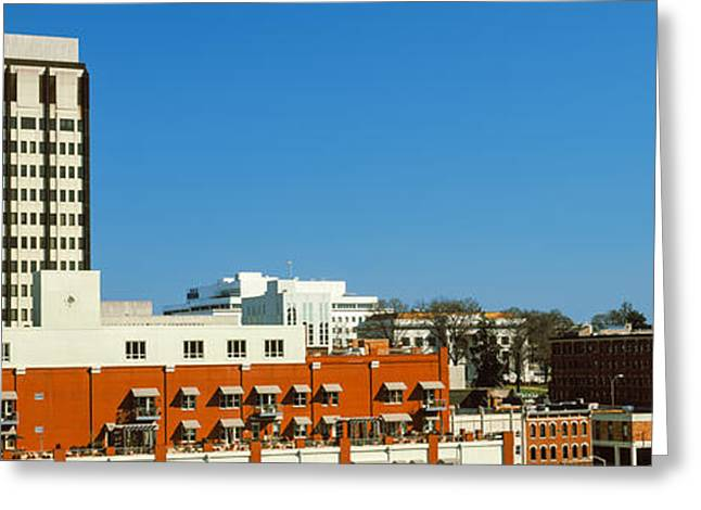 Downtown Buildings, Chattanooga Greeting Card