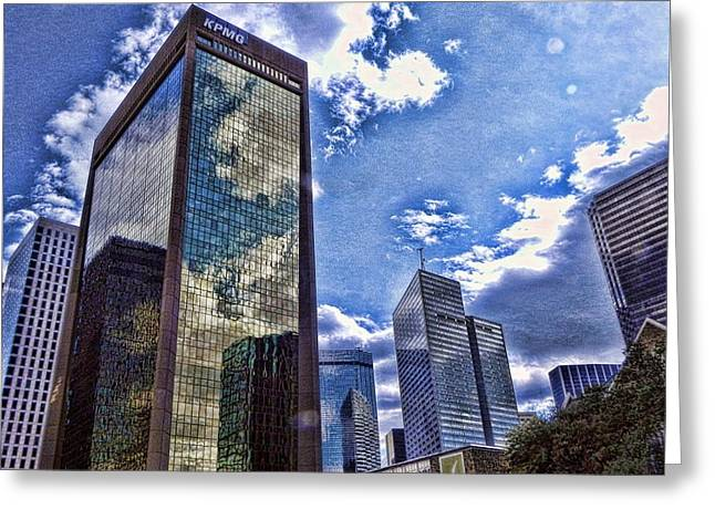 Downtown Dallas Greeting Card