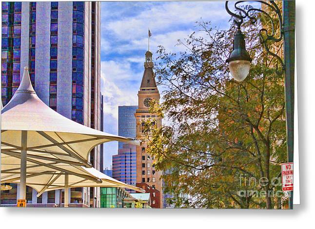 Downtown Denver Greeting Card