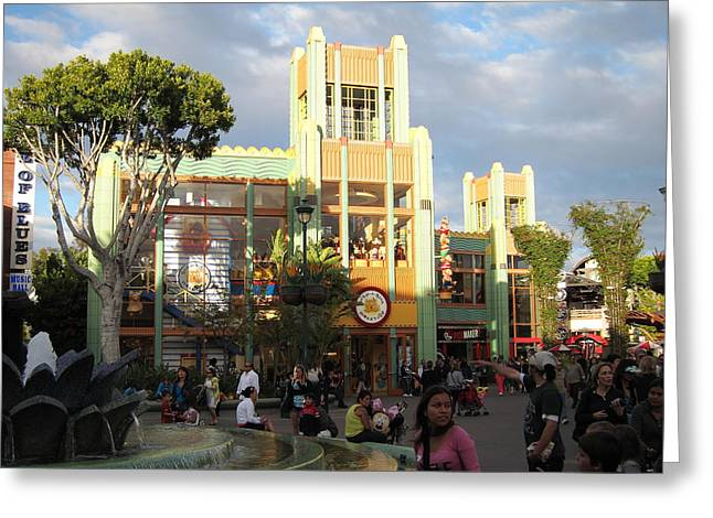 Downtown Disney Anaheim - 12127 Greeting Card by DC Photographer