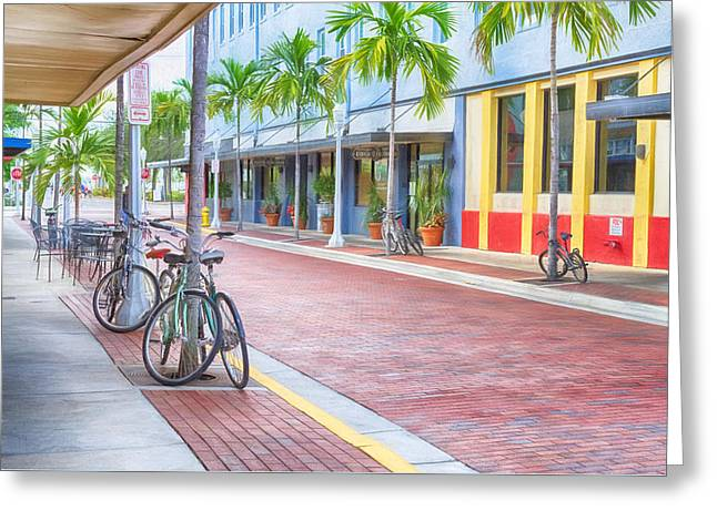 Downtown Fort Myers - Florida Greeting Card