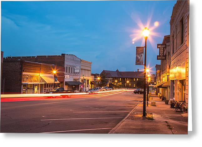 Downtown Hamlet Greeting Card