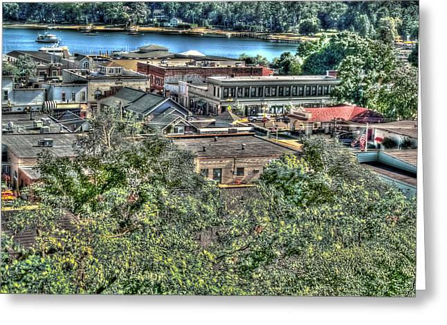Downtown Harbor Springs II Greeting Card by Bill Gallagher