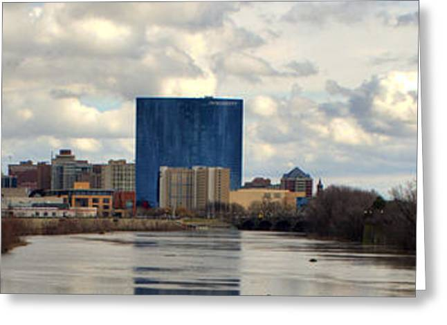 Downtown Indianapolis Greeting Card by Jeffrey Ward
