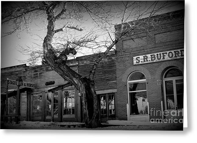 Greeting Card featuring the photograph Downtown by Janice Westerberg
