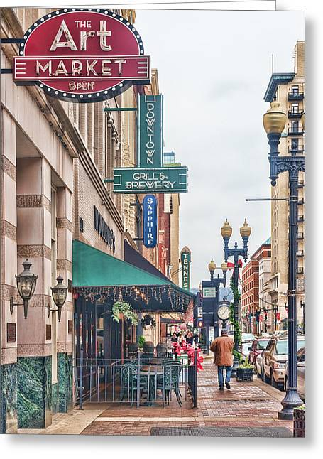Downtown Knoxville Greeting Card