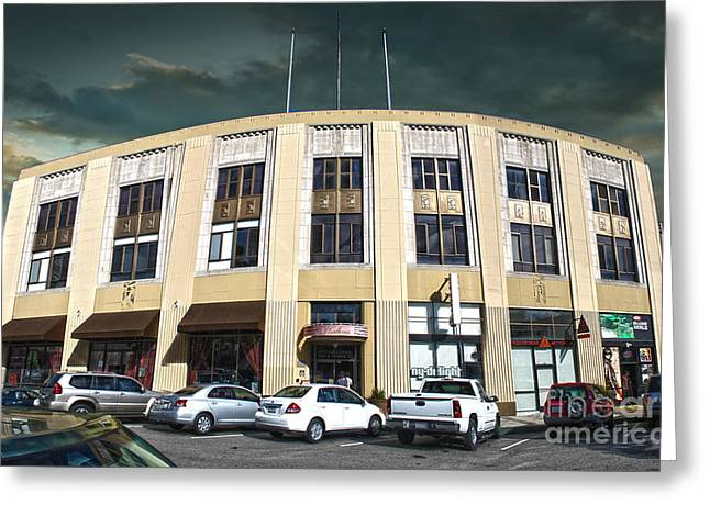 Downtown Pomona - 02 Greeting Card by Gregory Dyer