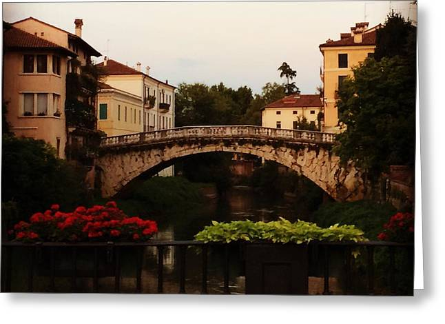 Downtown Vicenza Greeting Card