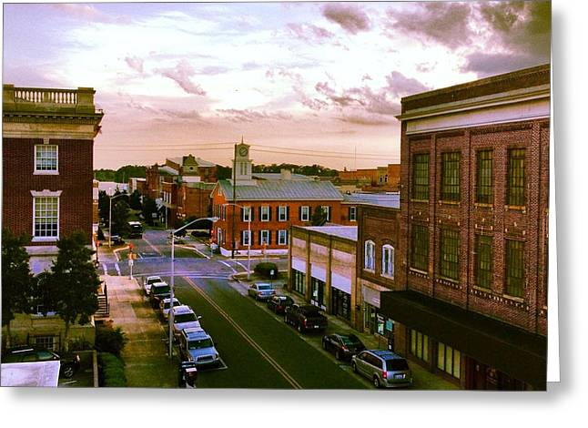 Downtown Washington Nc Greeting Card