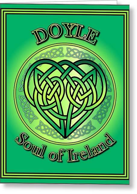 Doyle Soul Of Ireland Greeting Card
