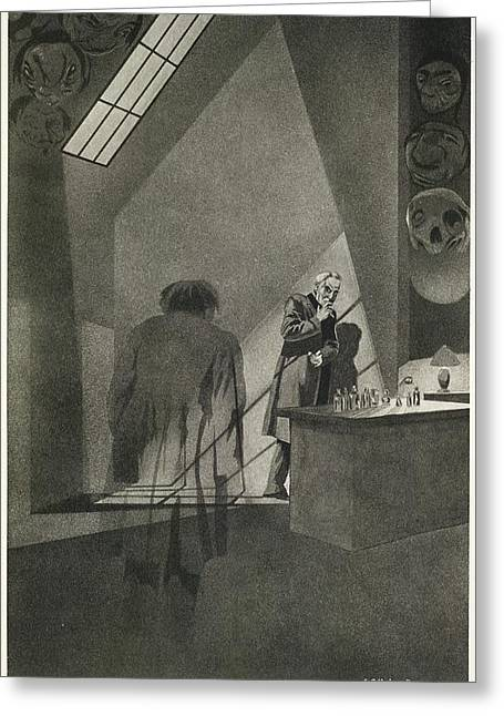 Dr. Jekyll & Mr. Hyde Greeting Card by British Library