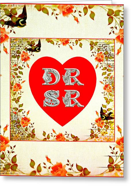 Dr Loves Sr Greeting Card by Dan Robinson